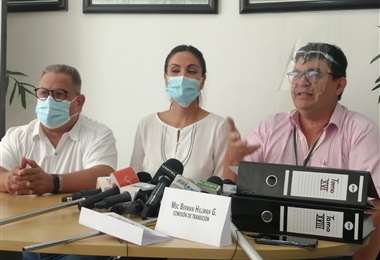 La comisión de transición presentó el informe económico  Foto: JC Torrejón