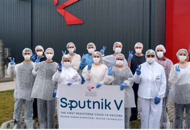 Argentina inmunizará a su población con la vacuna rusa