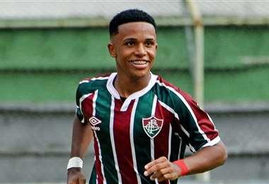 Kayky viene jugando la Copa Libertadores con el Fluminense. Foto: Internet