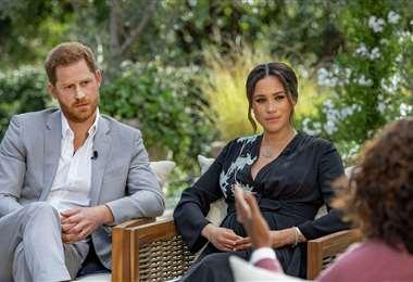 Los duques de Sussex en la polémica entrevista con Oprah Winfrey