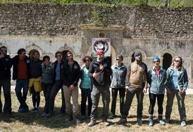 Salen de la cueva de los Pirineos 15 personas de un experimento/Foto