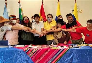 La comisión técnica de cuatro países integrantes