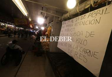 """Los carniceros creen afirman que existe un """"abuso del productor"""". Foto: Ricardo Montero"""