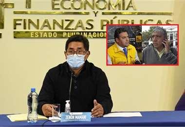 El viceministro expuso el asunto en conferencia de prensa