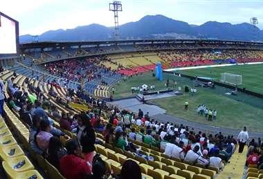 El Campín de Bogotá suele albergar partidos internacionales. Foto: Internet