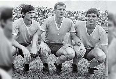 Capú, Edson y Luizinho, la tripleta de Blooming cuando se acentuaba la rivalidad