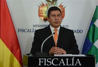 El fiscal Sergio Fajardo dio el reporte de los últimos casos de feminicidio