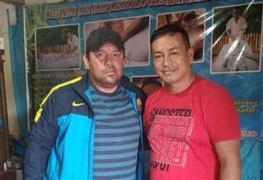 Ronald Mejía lleva más de una semana en Quimome realizando un tratamiento. Foto: Ronald Me