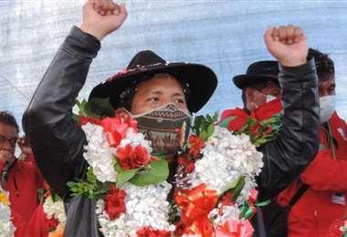 Santos Quispe se impone en la segunda vuelta en La Paz. Foto: internet