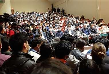 Ayer se acreditaron 178 autoridades, entre alcaldes y concejales
