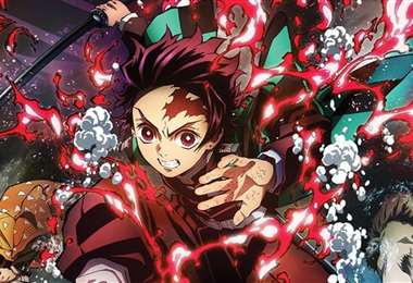 Escena del filme basado en el manga de Koyoharu Gotouge