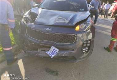 El chofer de la vagoneta que ocasionó el accidente fue aprehendido