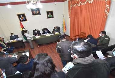 El proceso disciplinario inició en La Paz. Fotos: APG Noticias