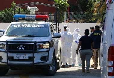 Policía investiga las causas de los dos fallecidos. Foto: JC. Torrejón