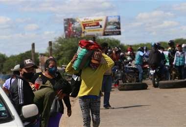 Los viajeros fueron los más afectados/Foto: Jorge Ibañez