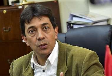 Zamora negó tener responsabilidad en gastos de YPFB