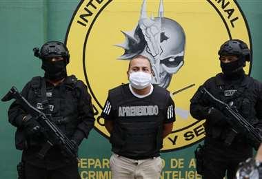 Atracador detenido/Foto: Juan Carlos Torrejón