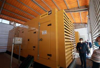 Cuenta con 2 generadores, cada uno de 1000 KVA. Foto: Jorge Gutiérrez