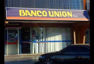 Imagen de archivo de una sucursal del Banco Unión