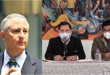 Núñez y Gonzáles (foto derecha) refirieron que hay más de 45 predios observados