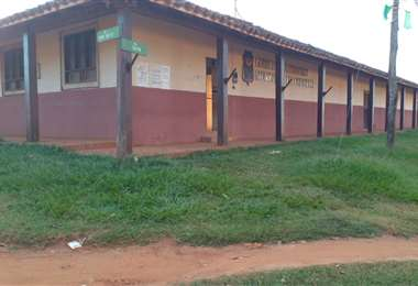 La unidad educactiva convertida en edificio edil