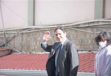 Salvador Romero renuncia a ser parte del TSE. Foto: APG