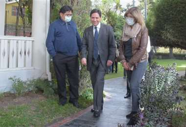 La última aparición pública de Salvador Romero en el TSE (Foto: APG Noticias)
