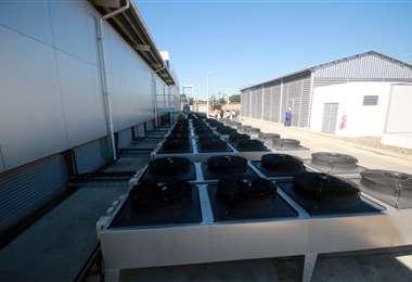 Sistema de ventilación. Foto: Jorge Gutiérrez