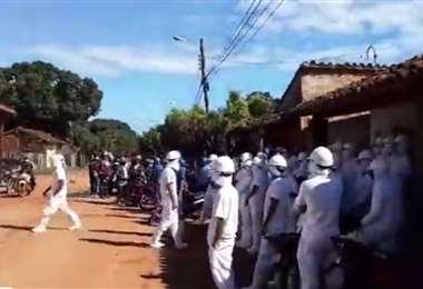 Trabajadores de FBC mantienen las protestas diarias
