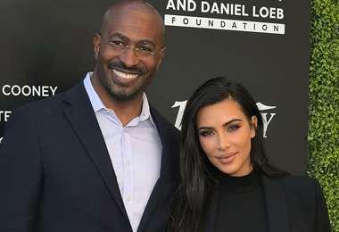 Van Jones y Kim Kardashian en una imagen de archivo