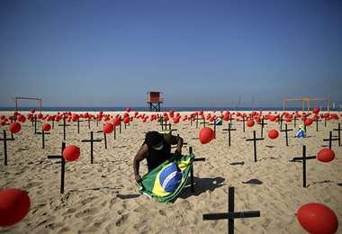 El virus no da tregua en tierra brasileña