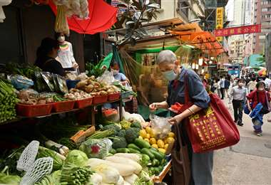 El despilfarro de alimentos tiene sanción en China. Foto AFP