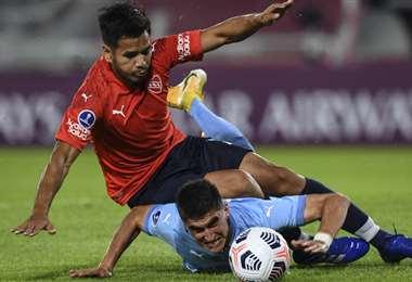 Independiente comenzó perdiendo, pero tuvo capacidad de reacción. Foto: AFP