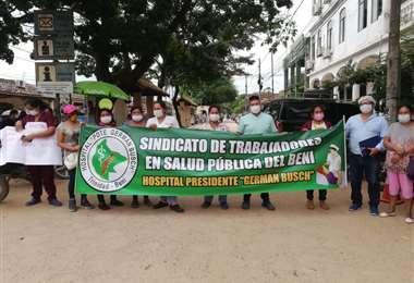 La Federación de Trabajadores de Salud determinó el paro indefinido