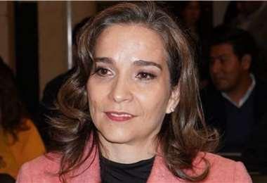 María Angélica Ruiz, presidenta interina del TSE