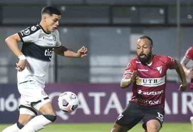 Always Ready no pudo lograr su primer triunfo de visitante en la Libertadores. Foto: AFP
