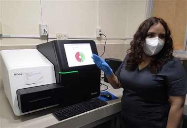 El secuenciador genético Miseq es de la marca Ilumina. Foto. ABI