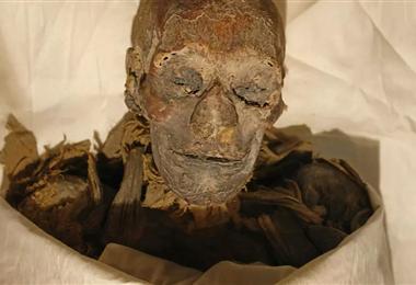 Momia de la reina Hatshepsut, que gobernó Egipto de1479 y 1458 AC/Archivo AFP