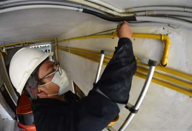 YPFB busca ampliar el servicio de gas domiciliario (Foto: Yacimientos)