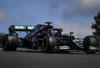Hamilton fue el más veloz de la jornada. Foto: AFP