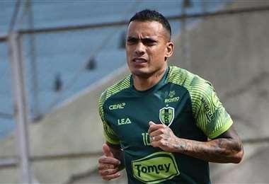 William Ferreira, delantero de Real Tomayapo. Foto: Facebook William Ferreira
