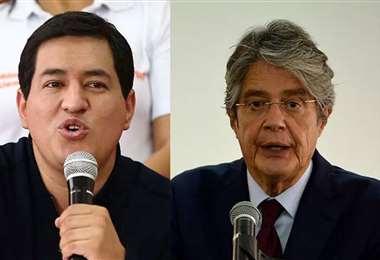 Arauz y Lasso se encuentran en campaña
