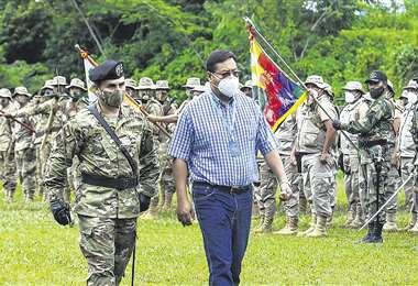 El presidente Luis Arce admitió el jueves, en el trópico de Cochabamba, el aumento de los