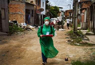 La favela Vila Vintem de Río de Janeiro