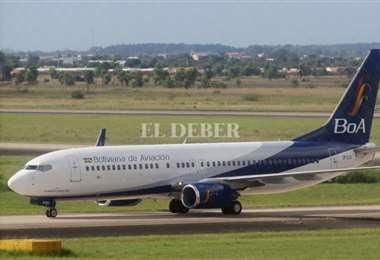 BoA mantiene vuelos solidarios de repatriación con Brasil. Foto: R. Montero