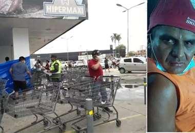 Las imágenes del suceso y del rostro del homicida se viralizaron en redes