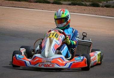 El nacional de karting este año tiene siete fechas. Foto: Febad