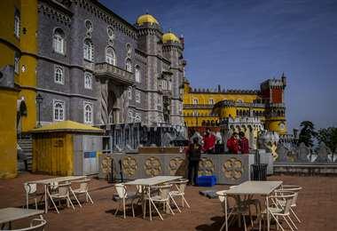 Las terrazas serán habilitadas en Portugal. Foto AFP