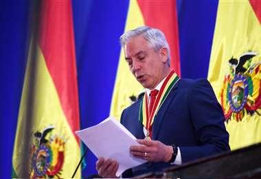 García Linera renunció junto a Evo Morales en octubre de 2019