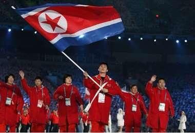 No se verá deportistas norcoreanos en el desfile inaugural de los juegos. Foto: Internet